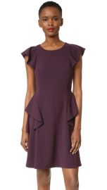 Rebecca Taylor Short Sleeve Ruffle Dress at Shopbop