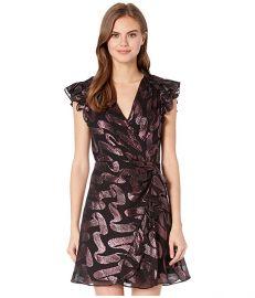 Rebecca Taylor Sleeveless Lurex Jacquard Dress at Zappos