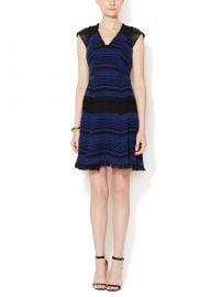 Rebecca Taylor Stripe Tweed Dress at Gilt
