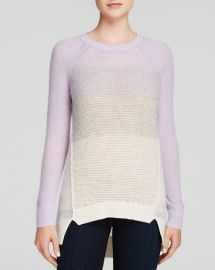 Rebecca Taylor Sweater - Ombr Mixed Stitch Pullover at Bloomingdales