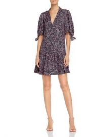 Rebecca Taylor Wild Rose Floral-Print Dress Women - Bloomingdale s at Bloomingdales
