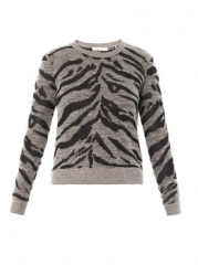 Rebecca Taylor Zebra Sweater at Matches