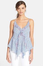 Rebecca Taylor and39Ditsy Tulipand39 Print Camisole at Nordstrom