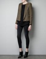 Rebekah's jacket at Zara at Zara