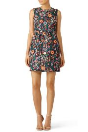 Red Valentino ancy Flower Printed Dress at Rent The Runway