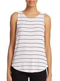 Red Haute - Striped Racerback Tank Top at Saks Fifth Avenue