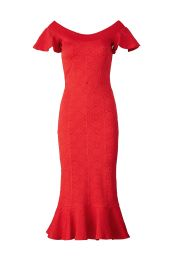 Red Lotus Dress at Opening Ceremony