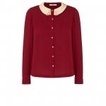 Red Orla Kiely blouse at Orlakiely