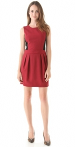 Red Theory dress worn on PLL at Shopbop