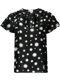 Red Valentino Star Print Blouse - Farfetch at Farfetch