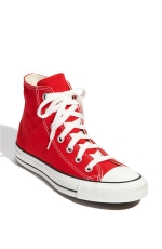 Red converse chuck taylors on Glee at Nordstrom