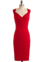 Red dress like Emilys at Modcloth