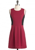 Red dress like Spencers at Modcloth at Modcloth