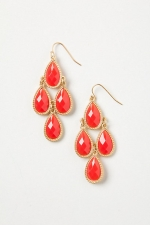 Red drop earrings at Anthropologie at anthropologie.png