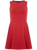 Red flared dress like Janes at Dorothy Perkins