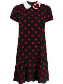 RedValentino hearts printed dress hearts printed dress at Farfetch