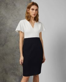 Reemad Mockable Midi Length Dress by Ted Baker at Ted Baker