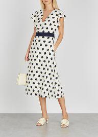 Reese Printed Cilk crepe de chine Midi Dress by Stella McCartney at Harvey Nichols