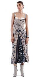 Reflection Adire Dress at oxosi