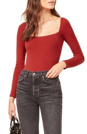 Reformation Gaia Bodysuit  Plus Size    Nordstrom at Nordstrom