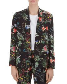 Regine Floral-Print Blazer at Bloomingdales