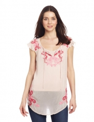 Reina blouse by Johnny Was at Amazon