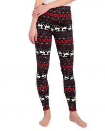 Reindeer Fairisle Christmas Leggings at Stein Mart