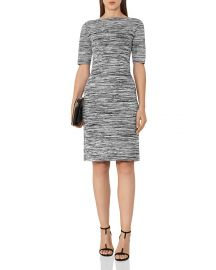 Reiss Harry Space-Dye Pattern Dress at Bloomingdales