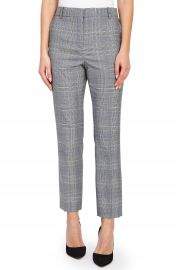 Reiss Joss Check Plaid Ankle Trousers   Nordstrom at Nordstrom