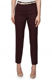 Reiss Lissia Slim Textured Wool Blend Suit Trousers   Nordstrom at Nordstrom