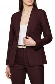 Reiss Lissia Textured Wool Blend Suit Jacket   Nordstrom at Nordstrom