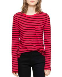 Reja Striped Long-Sleeved Tee by Zadig & Voltaire at Bloomingdales