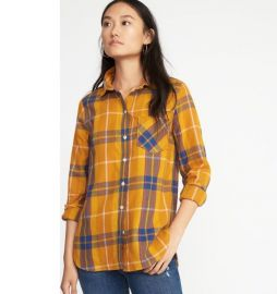 Relaxed Plaid Twill Shirt by Old Navy at Old Navy