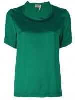 Relaxed silk top by Lanvin at Farfetch