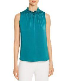 Remi Sleeveless Ruffled Silk Blend Top by Kobi Halperin at Bloomingdales