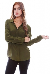Rene Silk Top by Feel the Piece at Singer 22