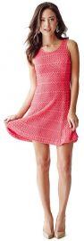Renee Sleeveless Crochet Dress at Guess