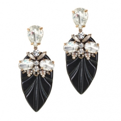 Resin Arrowhead Earrings at J. Crew