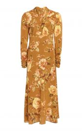 Resistance Floral-Print Silk Dress by Zimmermann at Moda Operandi