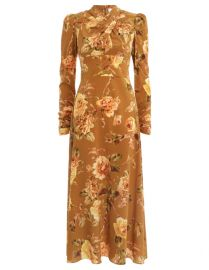 Resistance Floral-Print Silk Dress by Zimmermann at Zimmermann