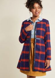 Retro Tailored Aline Coat at ModCloth
