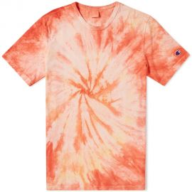 Reverse Weave Tie Dye Tee by Champion at End.