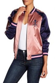Reversible Silk Graphic Bomber Jacket by Opening Ceremony at Nordstrom Rack