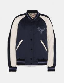 Rexy By Zhu Jingyi Reversible Varsity Jacket at Coach