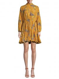 Rhode - Caroline Serengeti Dress at Saks Fifth Avenue