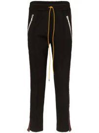 Rhude Traxedo Stripe Trousers - Farfetch at Farfetch