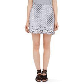 Rhys Embellished Skirt at Club Monaco