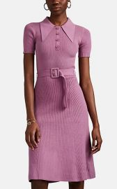 Rib-Knit Cotton-Blend Belted Sweaterdress by JoosTricot  at Barneys