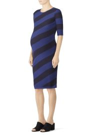 Rib Knit Knee Length Maternity Dress by A Pea in the Pod at Rent The Runway