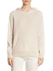 Rib-Knit Pullover Hoodie by Vince at Saks Off 5th